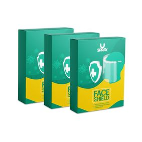 U SPRAY FACE SHILED (Pack of 3)
